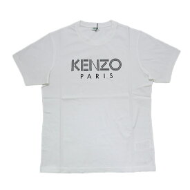 KENZO kenzo ケンゾー メンズ Tシャツ ラウンドネック ロゴ ホワイト 2020ss