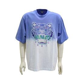 KENZO kenzo ケンゾー メンズ タイガー Tシャツ グラデーションTシャツ Tigre ラウンドネック ラベンダー 2020ss
