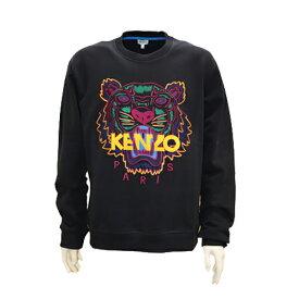 KENZO kenzo ケンゾー メンズ スウェット タイガー 刺繍 トレーナー ブラック プルオーバー 2019 2020秋冬新作