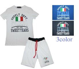 【SWEET YEARS】sweet years スイートイヤーズ メンズ Tシャツ ハーフパンツ 上下セット セットアップ SYU1934 SYU1937