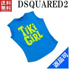 ディースクエアード レディース Tシャツ DSQUARED2 ダメージ加工 プリント レディース (良品・即納) 【中古】 X2661