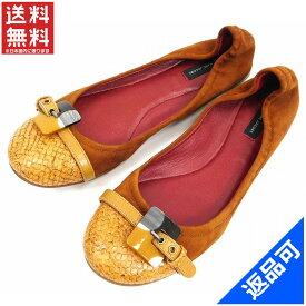 マークジェイコブス 靴 レディース パンプス MARC JACOBS パイソン型押し #37 (良品・即納) 【中古】 X4090