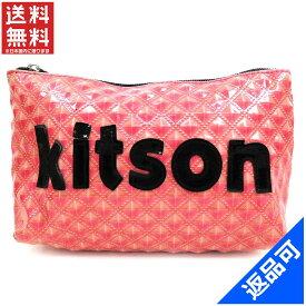 [半額セール]キットソン kitson バッグ ポーチ 化粧ポーチ 中古 X5485