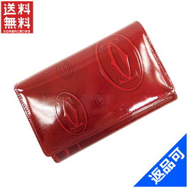 782fd2e45c4b カルティエ 財布 レディース (メンズ可) 長財布 Cartier ハッピーバースデー L字ファスナー財布