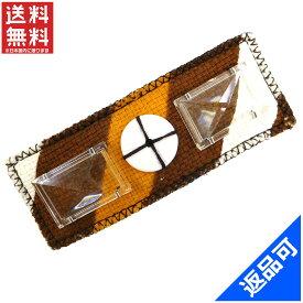 [半額セール]ミュウミュウ miumiu ブローチ ファッションアクセサリー ピンブローチ デザインボタン付き 中古 X6902