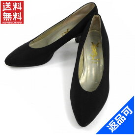 [半額セール]イヴ・サンローラン YVES SAINT LAURENT 靴 パンプス #34 12 中古 X7212