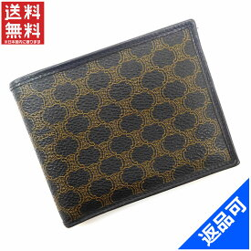セリーヌ 財布 レディース (メンズ可) 二つ折り財布 CELINE 激安 即納 【中古】 X8807
