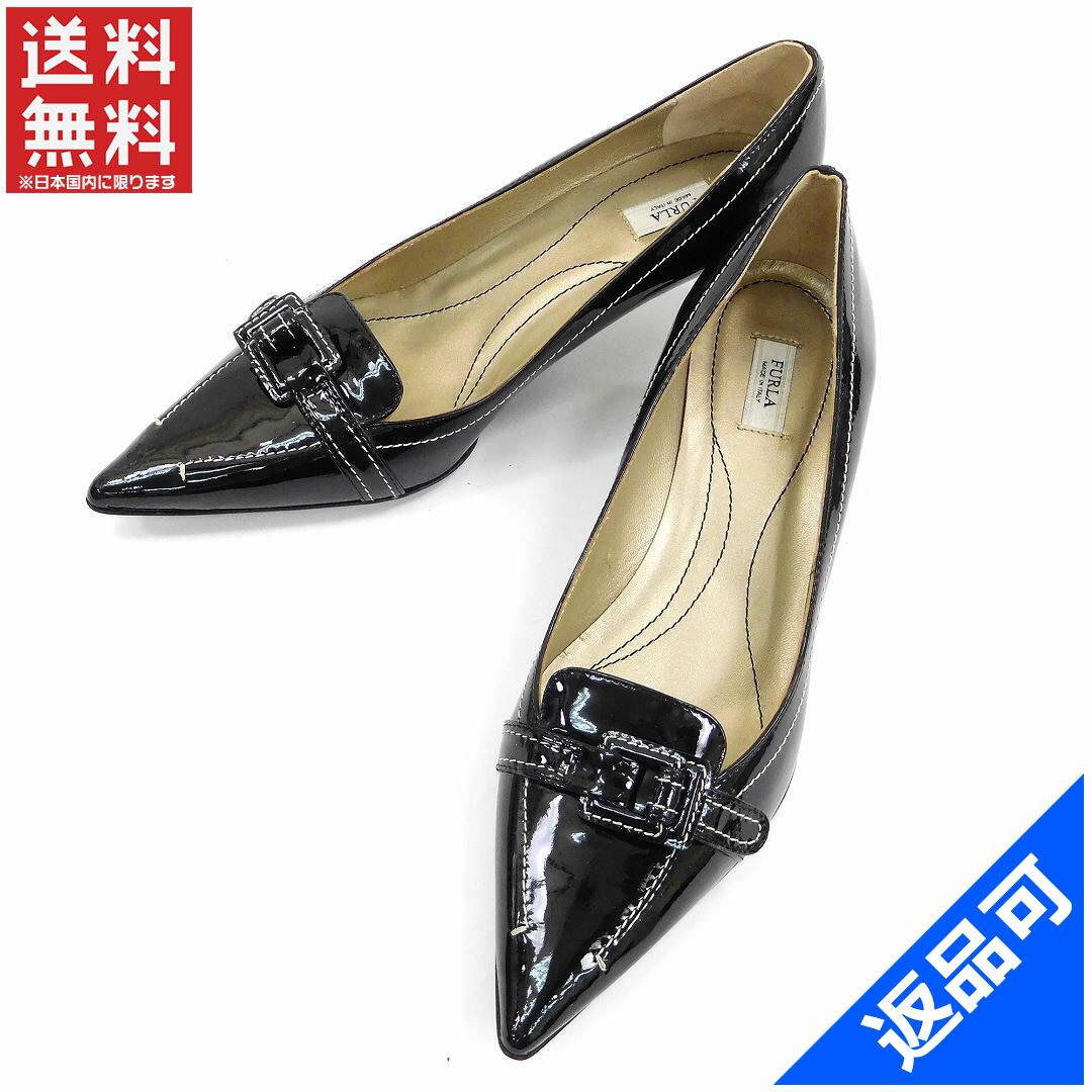 フルラ 靴 レディース パンプス FURLA ヒール シューズ 靴 美品 即納 新品同様【中古】 X9670