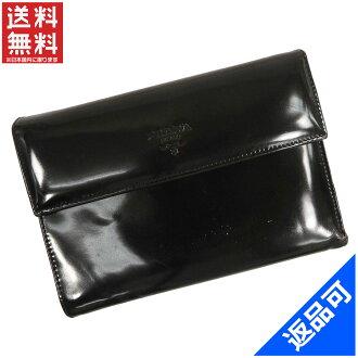 PRADA Prada wallet two bi-fold wallet tri-fold wallet men's available now X12320