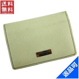 [半額セール]バーバリー BURBERRY 名刺入れ カードケース 中古 X13262