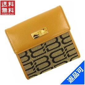 バレンシアガ 財布 レディース (メンズ可) 二つ折り財布 BALENCIAGA BB柄 Wホック財布 即納 【中古】 X14410