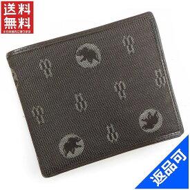 ハンティングワールド 財布 レディース (メンズ可) 二つ折り札入れ HUNTING WORLD 即納 【中古】 X14824