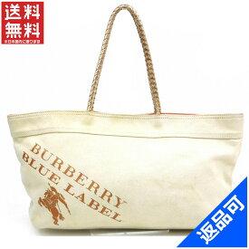 [半額セール]バーバリー BURBERRY バッグ ショルダーバッグ トートバッグ BLUE LABEL 中古 X15876