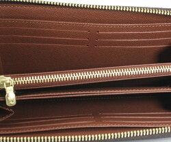 新型新品17年製LOUISVUITTONルイヴィトンモノグラムジッピーウォレットラウンドファスナー長財布M42616プレゼントに!!