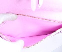 美品LOUISVUITTONルイヴィトンポルトフォイユ・アンソリットマルチブロン(白)×リッチ(ピンク)二つ折り長財布M93751【中古】