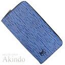 ルイヴィトン 長財布 ジッピーウォレット エピデニム 青 ブルー ラウンドファスナー M60957 メンズ レディース 未使用
