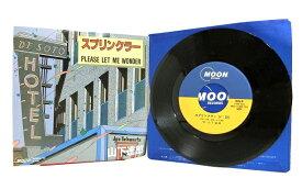LP レコード・山下達郎 スプリンクラー/PLEASE LET ME WONDER MOON-710 MOON RECORDS ドーナツ盤 ヴィンテージ品 廃盤 中古 送料無料 20-3021