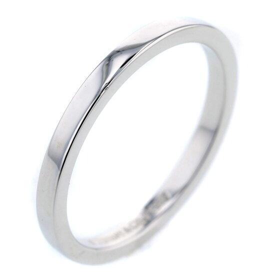 蒂芙尼古典帶14號2mm結婚戒指戒指白金PT950女士TIFFANY&Co. K81113534 brandshop-kuraya