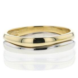 カルティエ リング・指輪 ラブミー K18イエローゴールド K18ホワイトゴールド 23号 メンズ CARTIER 【中古】K10303204