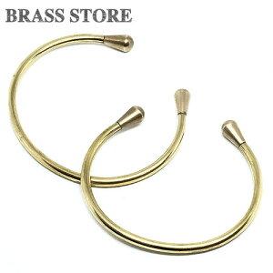 BRASS STORE ブラスストア /真鍮製 ドロップヘッド ブレスレット(ペア2点セット) / ブレスレット メンズ レディース ブラス アクセ brass store インディアンジュエリー アンクレット