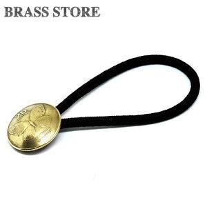 BRASS STORE ブラスストア / フィリピン 25センティモ コインコンチョ ブレスレット(蝶々)20mm / 硬貨 外国 バングル ビンテージ メンズ レディース 髪留め シルバー ゴールド アンクレット 古銭