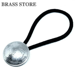 BRASS STORE ブラスストア / アメリカ 25セント コインコンチョブレスレット(サウスダコタ州)24mm / 硬貨 外国 バグル ビンテージ メンズ レディース 髪留め シルバー ゴールド アンクレット 古