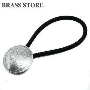BRASS STORE ブラスストア / シンガポール 20セント コインコンチョブレスレット(カジキマグロ)23mm / 硬貨 外国 バグル ビンテージ メンズ レディース 髪留め シルバー ゴールド アンクレット