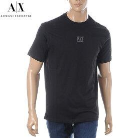 アルマーニエクスチェンジ A|X ARMANI EXCHANGE クルーネックTシャツ 半袖 メンズ 3GZTAB ZJ6AZ ブラック