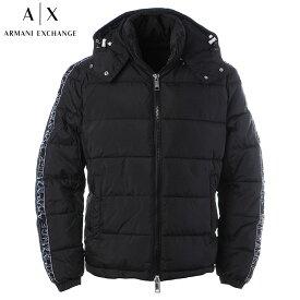 アルマーニエクスチェンジ A|X ARMANI EXCHANGE ナイロンジャケット メンズ アウター ブルゾン ブランド 6HZB07 ZNKRZ ブラック 2020秋冬新作