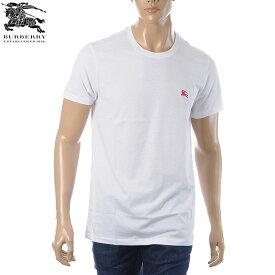 バーバリー BURBERRY クルーネックTシャツ 半袖 メンズ 8003831 ホワイト