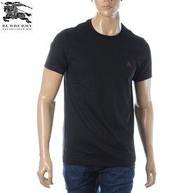 バーバリー BURBERRY クルーネックTシャツ 半袖 メンズ 8003828 ブラック