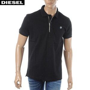 ディーゼルDIESELポロシャツ半袖メンズT-HART00SJ6N-0CATIブラック