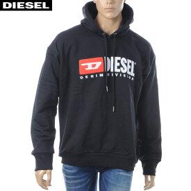ディーゼル DIESEL プルオーバーパーカー メンズ S-DIVISION 00SH34-0CATK ブラック