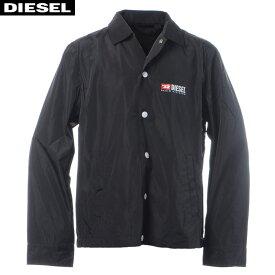 ディーゼル DIESEL ナイロンジャケット メンズ アウター J-ROMAN-P 00SV75-0WATH ブラック