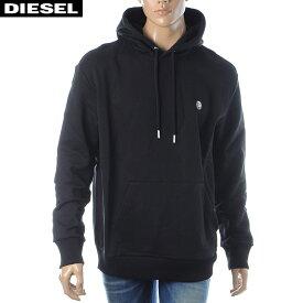 ディーゼル DIESEL プルオーバーパーカー スウェット メンズ S-AFTER 00SHEF-0NAUW ブラック 2019秋冬新作