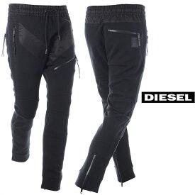 ディーゼル DIESEL スウェットパンツ メンズ P-STESSEL 00SY5A-0TAVM ブラック 2019秋冬新作
