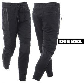 ディーゼル DIESEL スウェットパンツ メンズ P-RYAN 00SH3N-0AASF ブラック