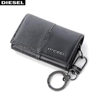 ディーゼル DIESEL レザーキーケース KEYCASE O X06310 P0598 ブラック