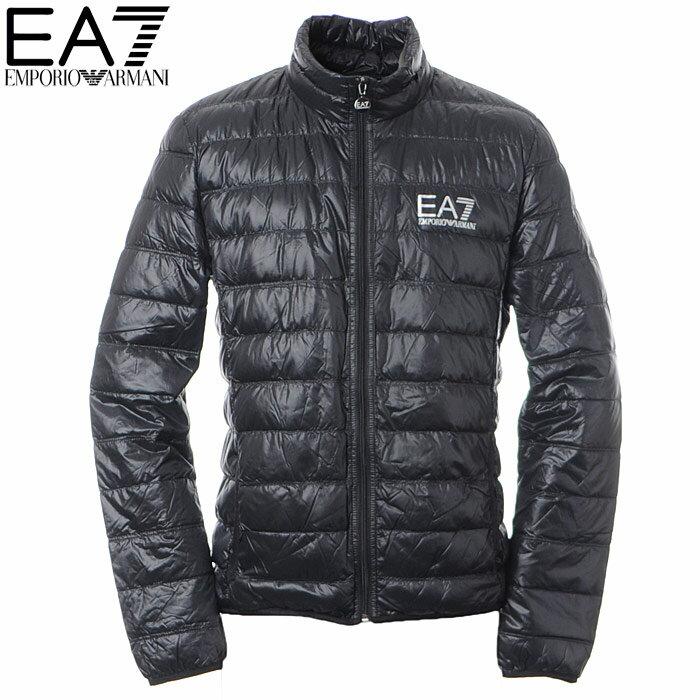 エンポリオアルマーニ EA7 EMPORIO ARMANI ダウンジャケット メンズ アウター ブルゾン 8NPB01 PN29Z ブラック