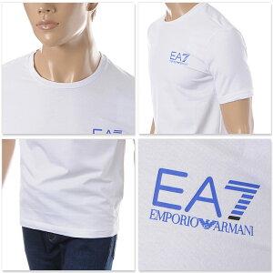 エンポリオアルマーニEMPORIOARMANIEA7クルーネックTシャツ半袖メンズ3GPT08PJ03Zホワイト