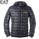 エンポリオアルマーニ EA7 EMPORIO ARMANI ダウンジャケット ブルゾン メンズ アウター 8NPB02 PN29Z ブラック 2019秋冬新作