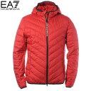 エンポリオアルマーニ EA7 EMPORIO ARMANI ダウンジャケット メンズ アウター ブルゾン 8NPB07 PNE1Z レッド 2020秋冬新作