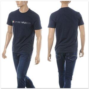 エンポリオアルマーニEMPORIOARMANIUNDERWEARクルーネックTシャツ半袖メンズ1108539P510ネイビー