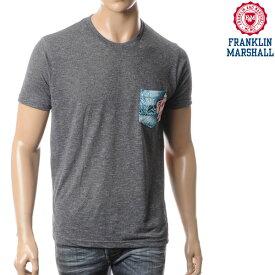 フランクリンマーシャル FRANKLIN&MARSHALL メンズ半袖Tシャツ/グレー/TSMAL266M