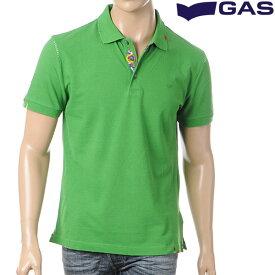 ガスジーンズ GAS JEANS メンズポロシャツ/グリーン/310085181409