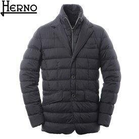 ヘルノ HERNO ダウンジャケット メンズ アウター LA GIACCA PI001ULE 19288 ブラック