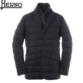 ヘルノ HERNO ダウンジャケット メンズ アウター LA GIACCA PI001ULE 19288 ブラック 2019秋冬新作