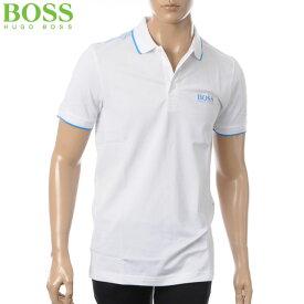 ヒューゴボス HUGO BOSS ATHLEISURE ポロシャツ 半袖 メンズ 50379302 ホワイト