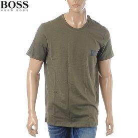 ボス ヒューゴボス BOSS HUGO BOSS クルーネックTシャツ 半袖 メンズ 50404133 カーキ