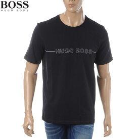 ボス ヒューゴボス BOSS HUGO BOSS クルーネックTシャツ 半袖 メンズ 50397030 ブラック
